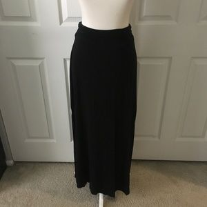 Dresses & Skirts - Black High Waisted Maxi Skirt